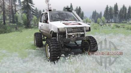 VAZ-1111 Oka off-road para Spin Tires