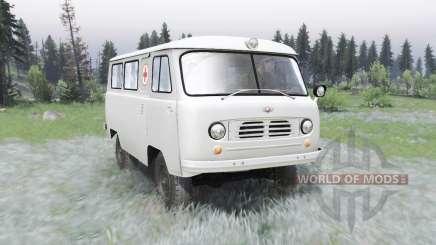 UAZ-450A DE 1957 para Spin Tires