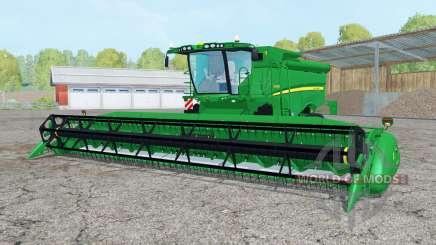 John Deere S690i para Farming Simulator 2015