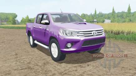 Toyota Hilux Double Cab 2015 para Farming Simulator 2017
