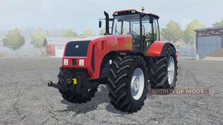Belarús 3522 elementos móviles para Farming Simulator 2013