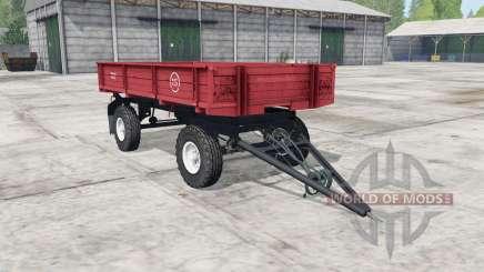 PTS-4 es moderadamente color rojo para Farming Simulator 2017