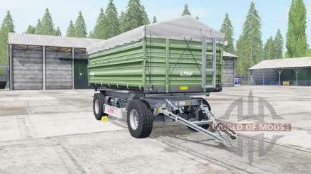 Fliegl DK 180-88 dark sea green para Farming Simulator 2017