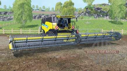New Holland CR10.90 titanio ỿellow para Farming Simulator 2015
