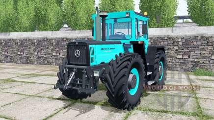 Mercedes-Benz Trac 1800 Intercooler turquoiʂe para Farming Simulator 2017