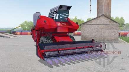 SK-6 Kolos color rojo para Farming Simulator 2017
