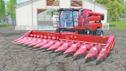 Case IH Axial-Flow 7130 with headers para Farming Simulator 2015