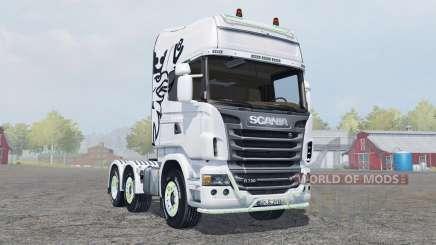 Scania R730 Topline para Farming Simulator 2013