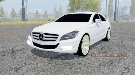 Mercedes-Benz CLS 350 CDI (C218) 2010 para Farming Simulator 2013