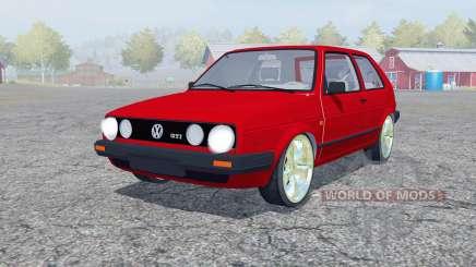 Volkswagen Golf GTI para Farming Simulator 2013
