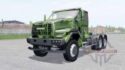 Ural Siguiente T25.420 2018 color de camuflaje para Farming Simulator 2017