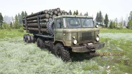GAZ-66 para MudRunner