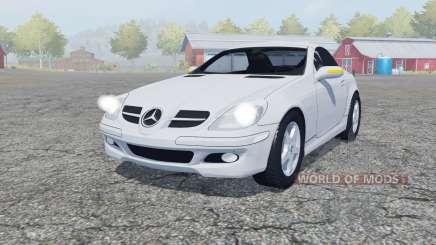 Mercedes-Benz SLK 350 (R171) 2004 para Farming Simulator 2013