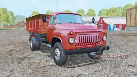 GAS-SAZ-3507 moderadamente color rojo para Farming Simulator 2015