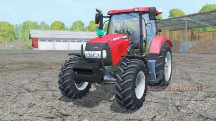 Case IH Maxxum 125 light brilliant red para Farming Simulator 2015