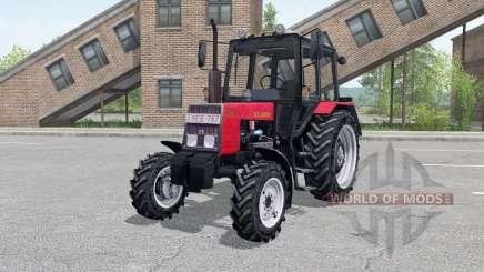 MTZ-820 Belarús consola, cargador frontal para Farming Simulator 2017