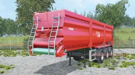 Krampe Sattel-Bandit 30-60 increased capacity para Farming Simulator 2015