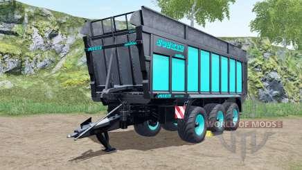Joskin Drakkar 8600 blue and black para Farming Simulator 2017