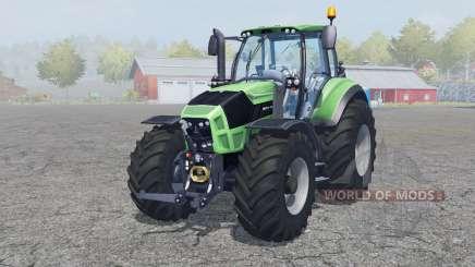 Deutz-Fahr Agrotron 7250 TTV front loader para Farming Simulator 2013