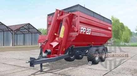 Metaltech PP 20 woodchips & chaff para Farming Simulator 2017