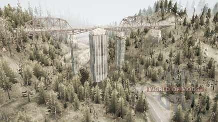 Valle del puente v2.0 para MudRunner
