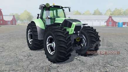 Deutz-Fahr Agrotron X 720 new wheel para Farming Simulator 2013