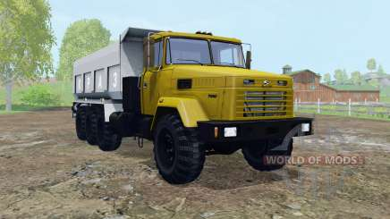 KrAZ-7140С6 elementos móviles para Farming Simulator 2015