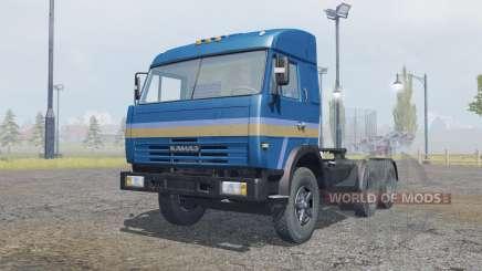 KamAZ-54115 de color azul oscuro para Farming Simulator 2013