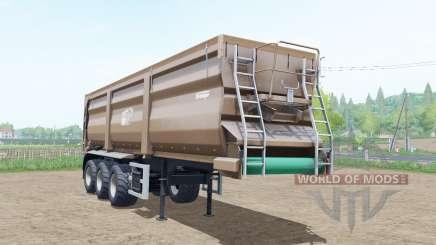 Krampe Sattel-Bandit 30-60 pale taupe para Farming Simulator 2017