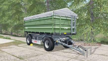 Fliegl DK 180-88 may green para Farming Simulator 2017