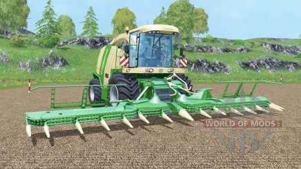 Krone BiG X 1100 new display para Farming Simulator 2015