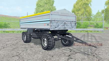 Fortschritt HW 80 pastel blue para Farming Simulator 2015