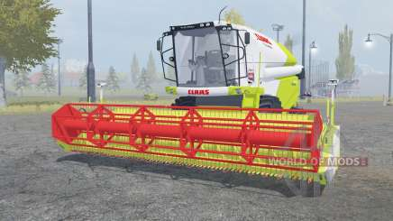 Claas Tucano 440 with header para Farming Simulator 2013