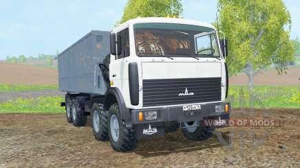 """""""MZKT-65151 para Farming Simulator 2015"""