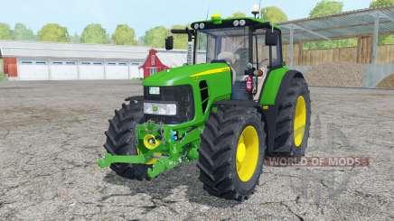 John Deere 7430 Premium front loader para Farming Simulator 2015