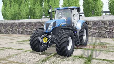 Nueva Hollanɗ T7.185 para Farming Simulator 2017