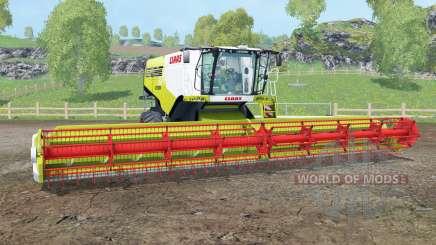 Claas Lexion 780 TerraTrac multifruit para Farming Simulator 2015