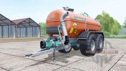 Zunhammer SKE 18500 PU brown para Farming Simulator 2017