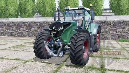 Fendt 1042 Vario green cyan para Farming Simulator 2017