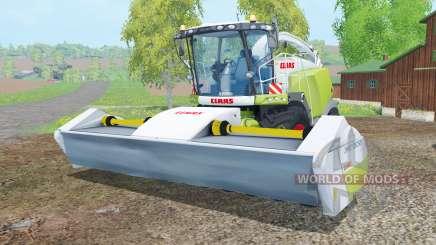 Claas Jaguar 980 with cutters para Farming Simulator 2015