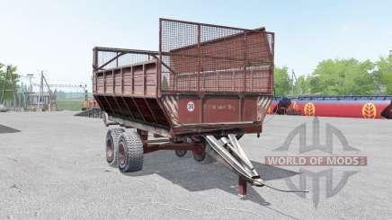 PIM-40-grisáceo color rojo para Farming Simulator 2017