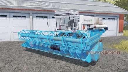 Fortschritt E 516 with header para Farming Simulator 2013