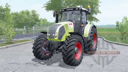 Claas Axion 810 wheels selection para Farming Simulator 2017