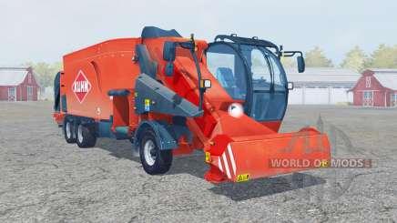 Kuhn SPV Confort XL ballen laden para Farming Simulator 2013