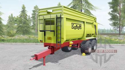 Conow TMK 22-7000 yellow-green para Farming Simulator 2017
