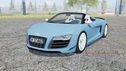 Audi R8 GT Spyder 2011 para Farming Simulator 2013