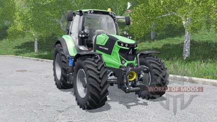 Deutz-Fahr 6 TTV Agrotron wheels selection para Farming Simulator 2017