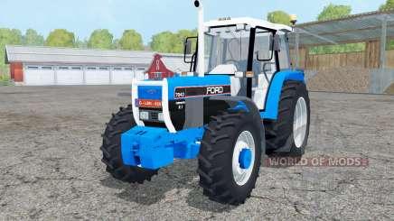 Ford 7840 dual rear wheels para Farming Simulator 2015