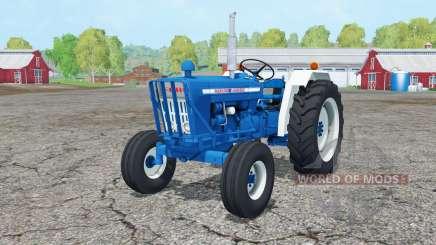 Ford 5000 1965 front loader para Farming Simulator 2015