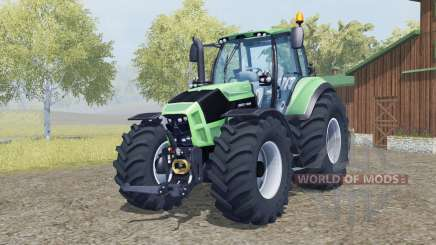Deutz-Fahr 7250 TTV Agrotron added wheels para Farming Simulator 2013